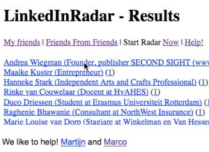 LinkedIn Radar